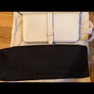 Calvin Klein Collection ivory bag